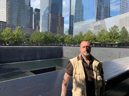 Motos Memorial de los atentados del 11-S en Nueva York. 2019.10.21