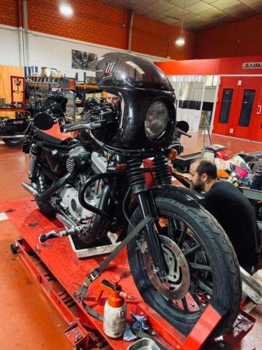 Transformacion Harley Davidson Sportster (13)