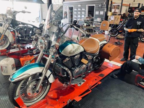 Transformacion Harley Davidson 2019 05 10-11
