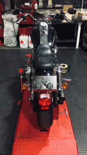 Transformacion Harley Davidson 7600