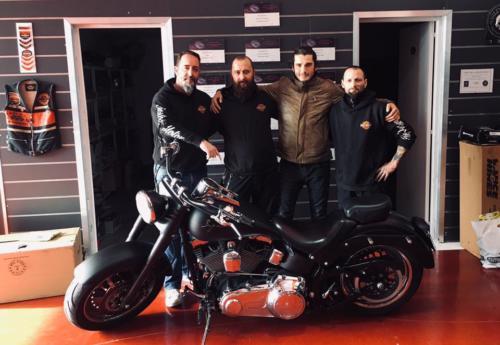 Transformacion Harley Davidson 7634