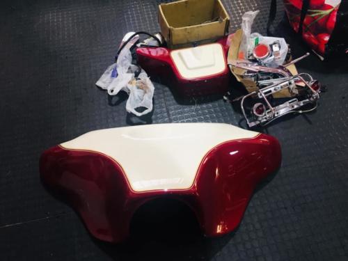 Transformacion Harley Davidson 7650