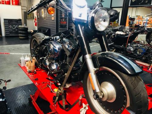 Transformacion Harley Davidson 7160