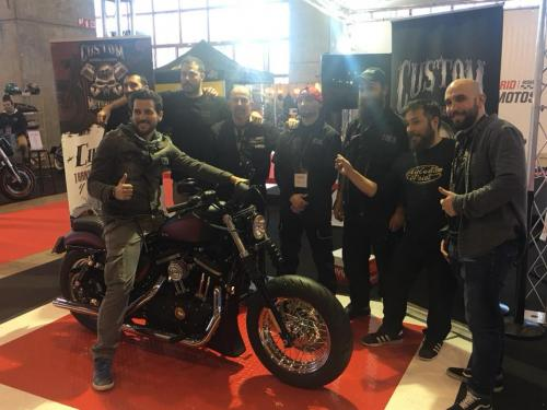 Transformacion Harley Davidson 7323
