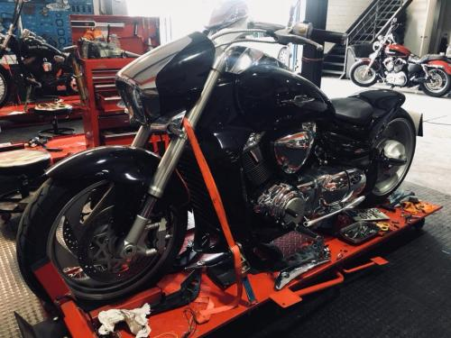 Transformacion Harley Davidson 7400