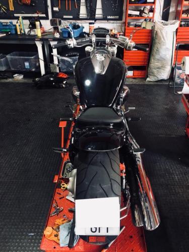 Transformacion Harley Davidson 7410