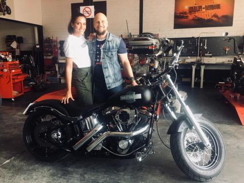 Transformacion Harley Davidson7461