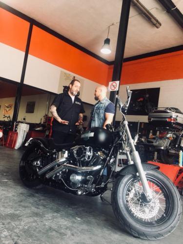 Transformacion Harley Davidson7462